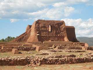 pecos national historical park ruins