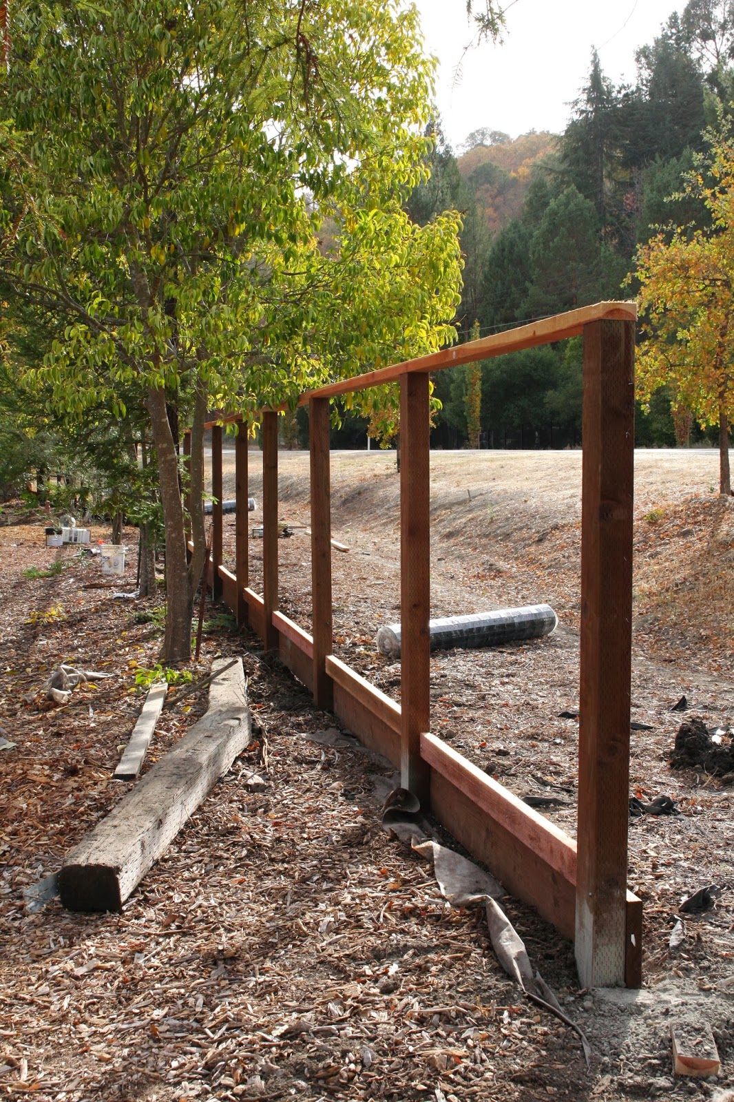 Outdoor Udate Deer Fence Simply Organized