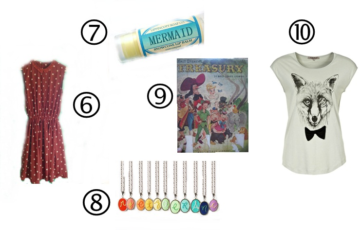 ten gift ideas for your sister