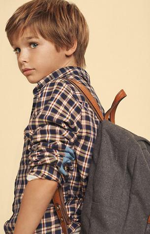 camisa niño Massimo Dutti otoño invierno vuelta al cole