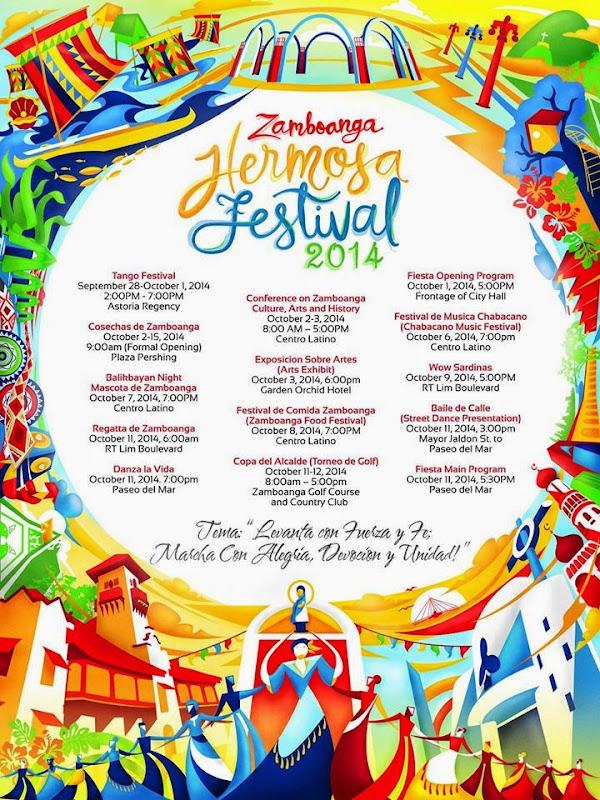 Zamboanga La Hermosa Festival 2014