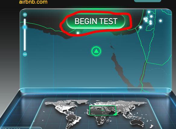 speed test،test speed،قياس سرعة النت