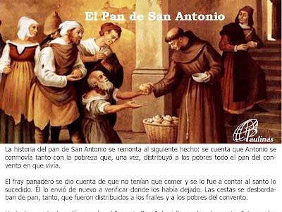 El Pan de San Antonio... historia y receta