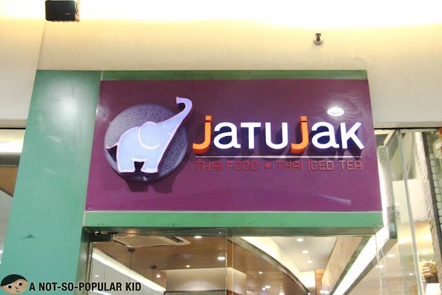 Jatujak Thai Food Thai Ice Tea - Mall of Asia