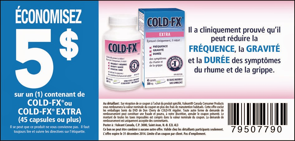 Coupons cold fx