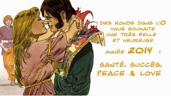 Voeux 2014 - Editions Des ronds dans l'O