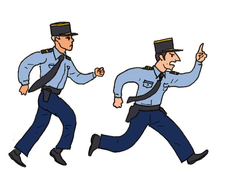 Yannick darbellay les gendarmes - Gendarme dessin ...