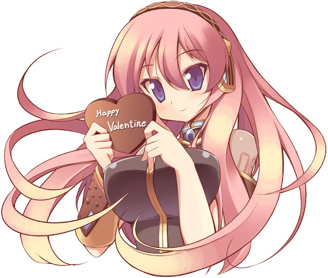 Mgumi Luka,vocaloid valentine,st. Valentine's Day