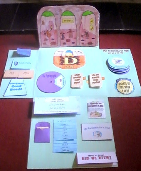 Iman S Home School Ramadan Lapbook