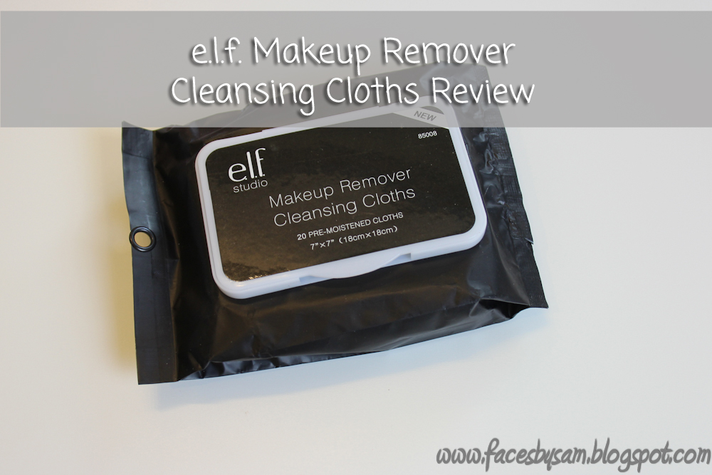 WIpes : ELF Makeup Remover Cleansing Cloths Review