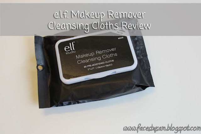 elf studio makeup cleansing cloths