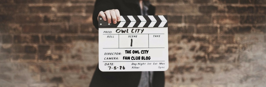 The Owl City Fan Club Blog