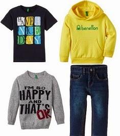 Flat 50% Off on UCB Kids Clothing starts Rs.249 @ Amazon