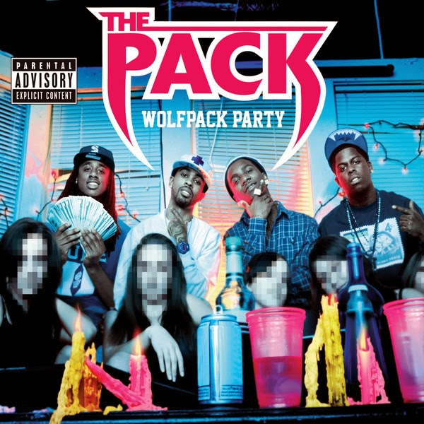 The Pack - Wolfpack Party  Cover