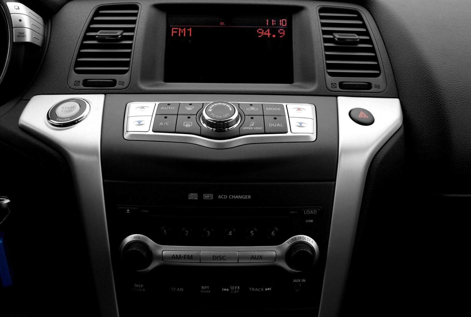2010 Nissan Murano Radio
