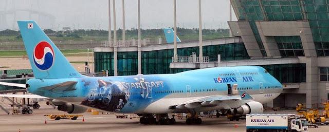 Avião do Starcraft II - Aviões temáticos para fãs