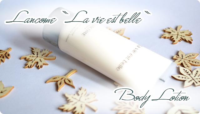 Meine Douglas Box Of Beauty Oktober 2013 - Lancome LA VIE EST BELLE Body Lotion
