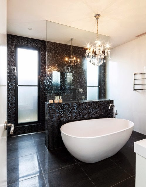 ديكور حمام مريح
