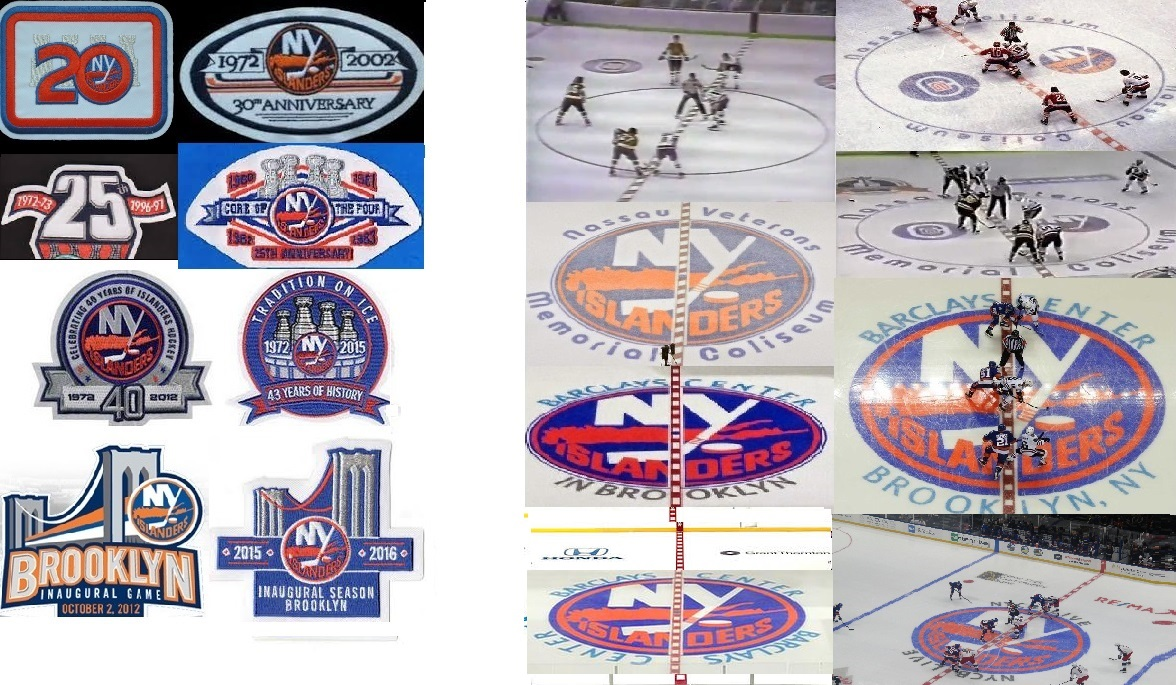 Anniversary Patches, Center Ice