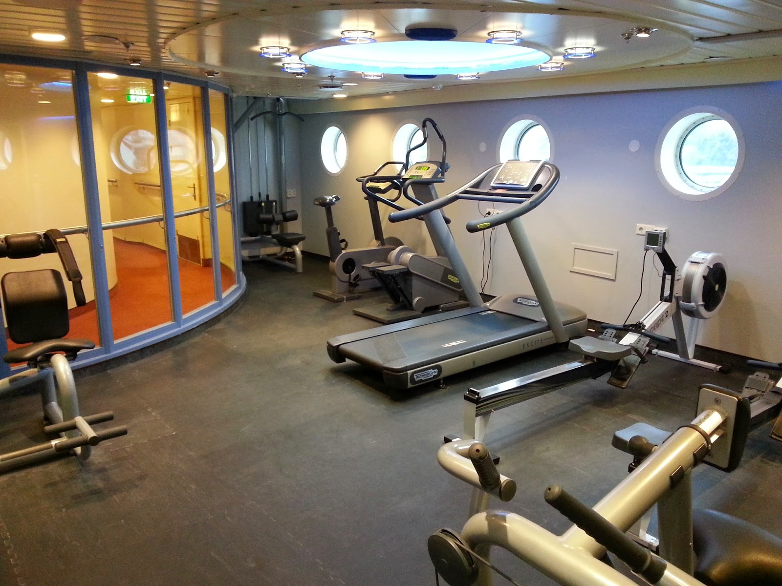 Hurtigruten MS Finnmarken - Gym and Fitness Room