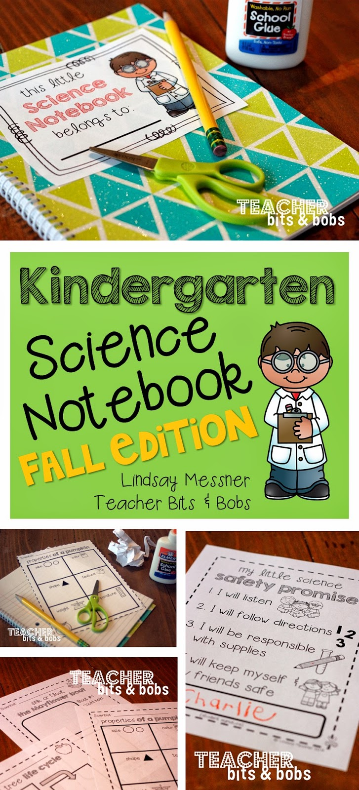 http://www.teacherspayteachers.com/Product/Kindergarten-Science-Notebook-Fall-Edition-1367269