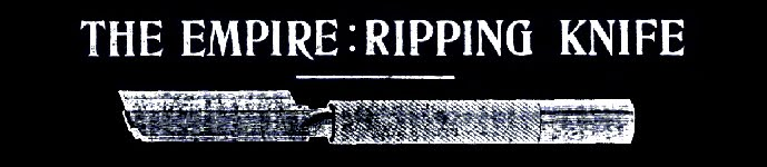 Ripping Knife