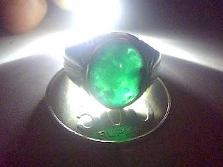 Batu Cincin Bacan Palamea Ring Perak 925