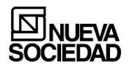 Nueva Sociedad