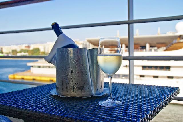 Prosecco på Silversea Cruiseline