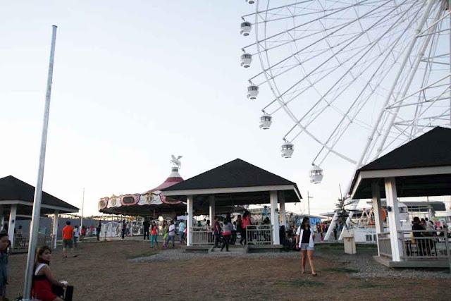 Gazebo at Sky Eye at Sky Fun Amusement Park at Sky Ranch Tagaytay
