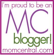I'm  Mom Central Blogger
