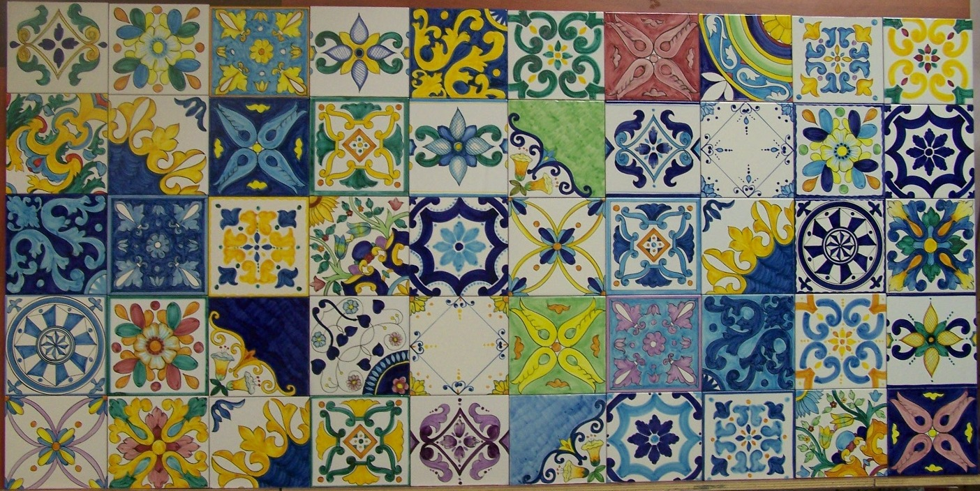 Siciliani da riscoprire il tascabile piastrelle siciliane
