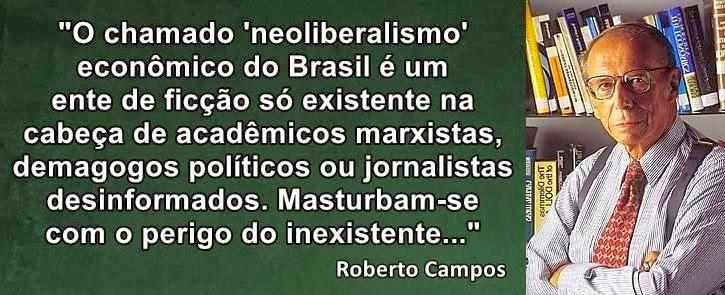 Fala Roberto Campos!