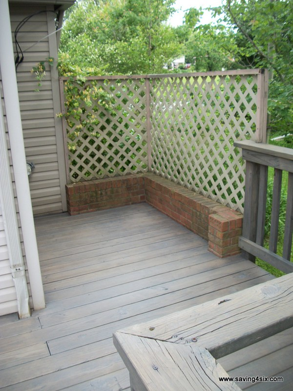 how to clean and stain a deck