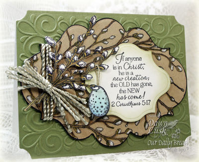 Stamps - Our Daily Bread Designs Happy Spring, Pussy Willow Background