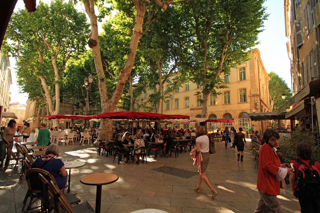 Aix-en-Provence France  city images : aix en provence place richelme france