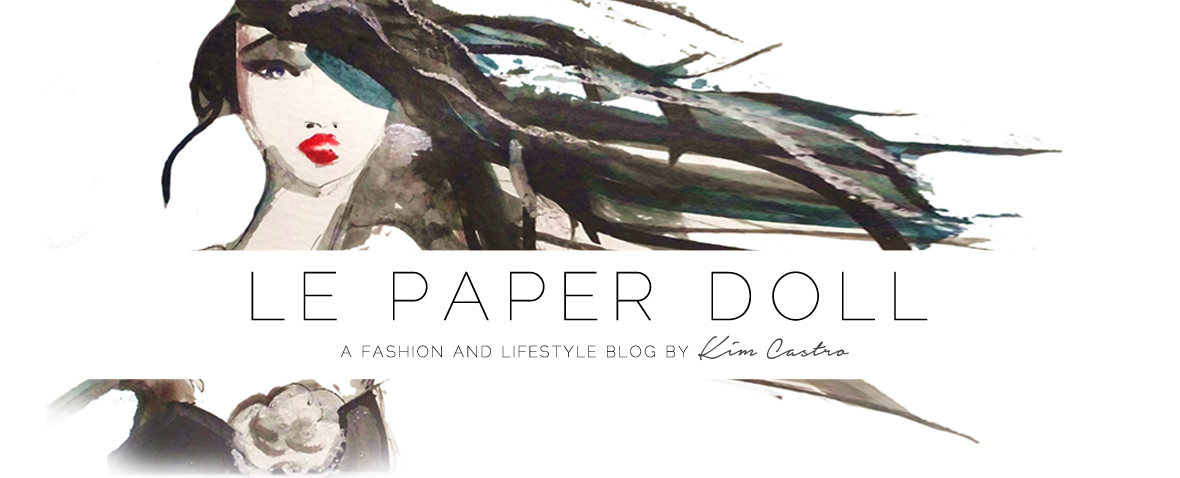 Le Paper Doll by Kim Anne Castro