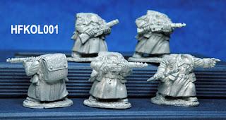 Hasslefree Miniatures Kolektiv Dwarves Troopers