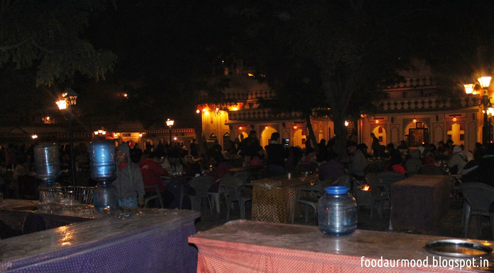 Rajasthani Food at Chowki Dhani