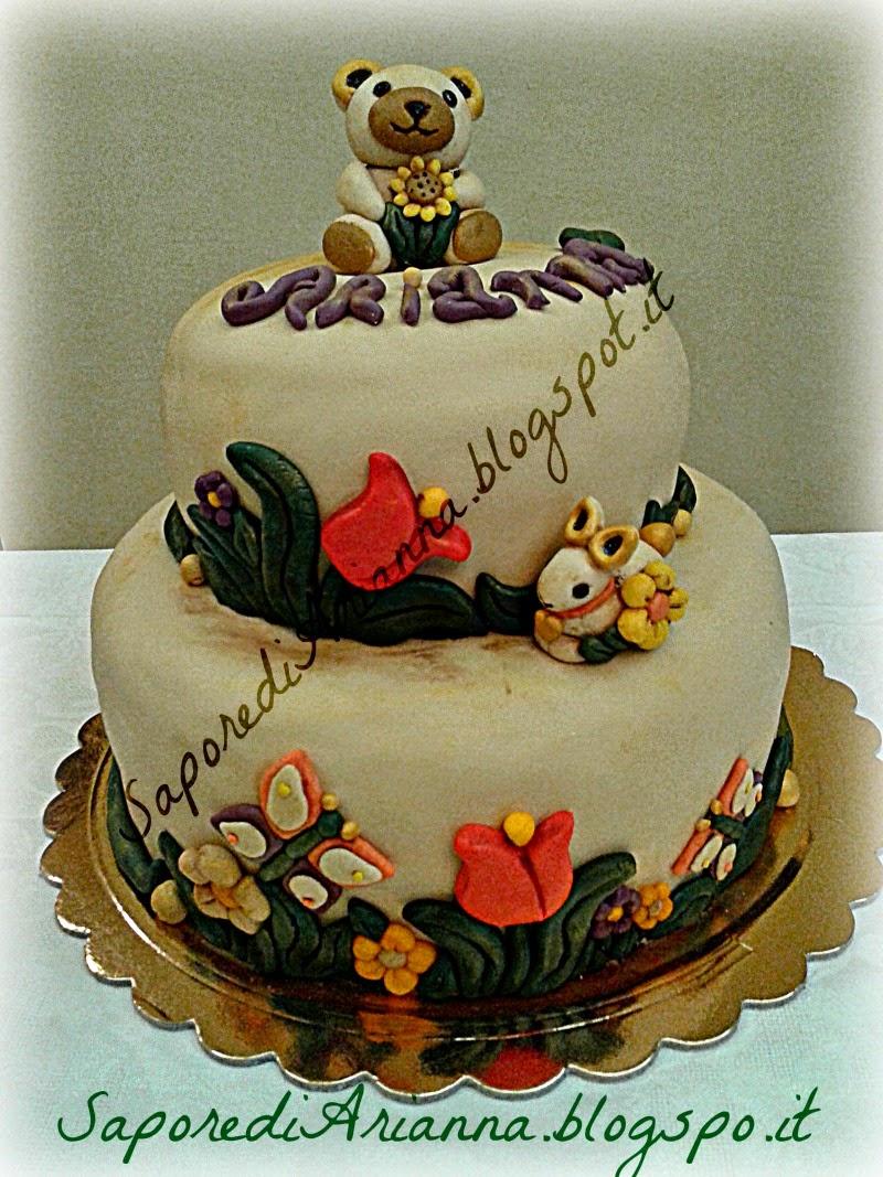 Sapore di arianna tanti auguri a me torta stile thun a for Piani in stile louisiana