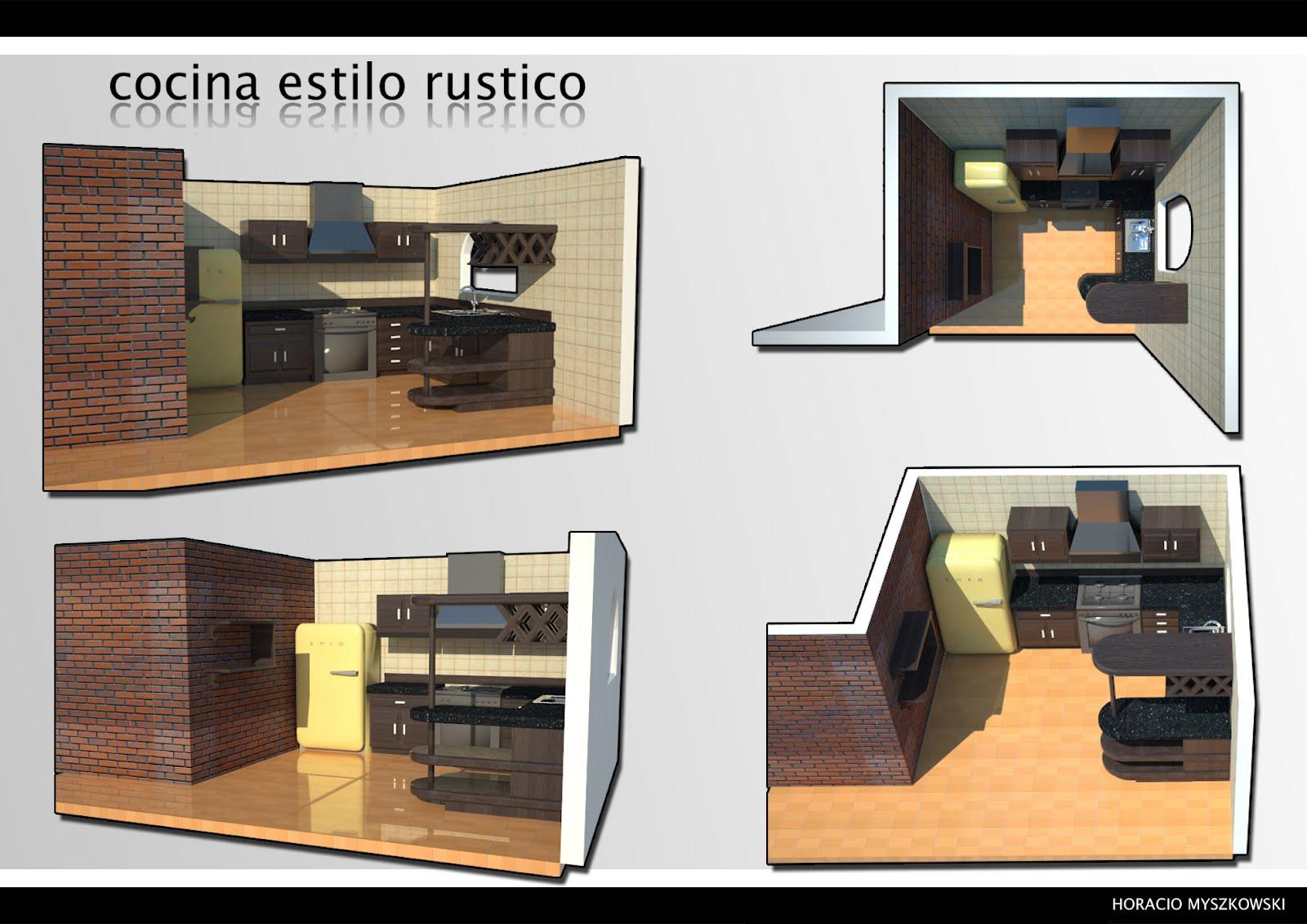 Dise o de interiores cocinas horacio myszkowski for Diseno de interiores facultades