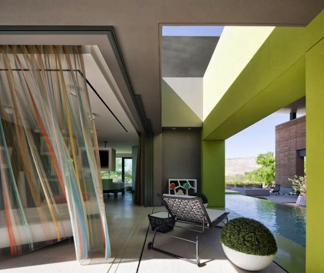 modern colorful lounge furniture