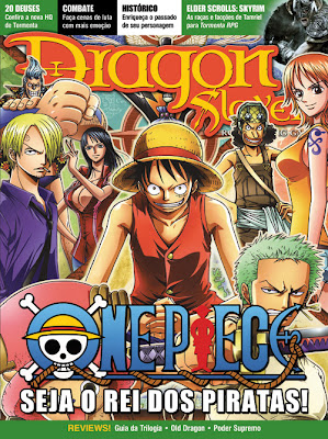 Capa da Dragon Slayer com os personagens de One Piece