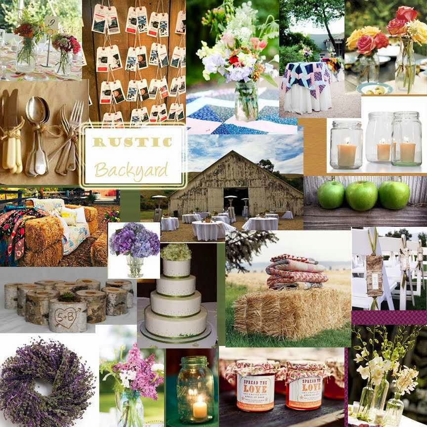 Backyard Wedding Decorations Ideas : Memorable wedding by applying backyard decorating ideas