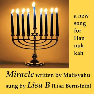 """Miracle"" by Matisyahu sung by Lisa B (Lisa Bernstein)"