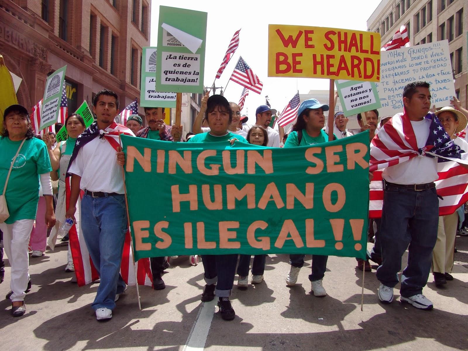 """""""Nadie es ilegal"""""""