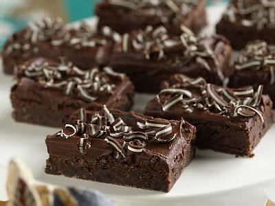 Creme De Menthe Brownies Recipe