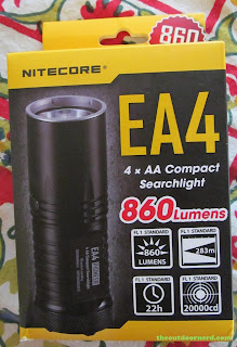 Nitecore EA4 Pioneer 4xAA Flashlight - New In Box