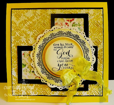 Our Daily Bread Designs, Crochet Circle,Scripture Series 3
