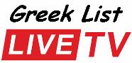 Greek list live TV